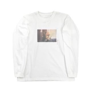 朝の日課 Long sleeve T-shirts