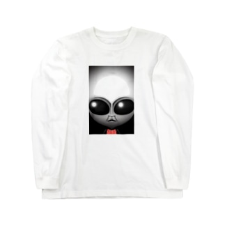リアルグレー Long sleeve T-shirts