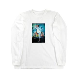 夏休み ロンTee Long sleeve T-shirts