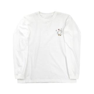 bum bum トリ Long sleeve T-shirts