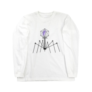 ファージ Long sleeve T-shirts