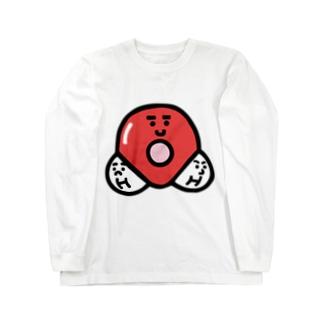 キャラNo. 37H2O分子模型くん  Long sleeve T-shirts