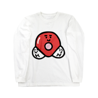 うえたに夫婦のキャラNo. 37H2O分子模型くん  Long sleeve T-shirts