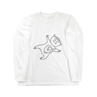 ポークゆえにフォーク Long sleeve T-shirts