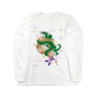 小槌の福龍B Long sleeve T-shirts