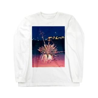 海辺の植物 Long sleeve T-shirts