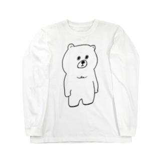むっくま Long sleeve T-shirts
