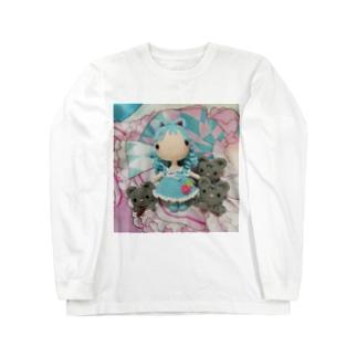 あみぐるみラゼル&にゃんズ Long sleeve T-shirts