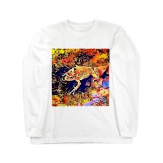 Fantastic Frog -Flare Version- Long sleeve T-shirts