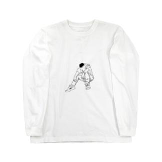 大阪の切れたナイフ Long sleeve T-shirts