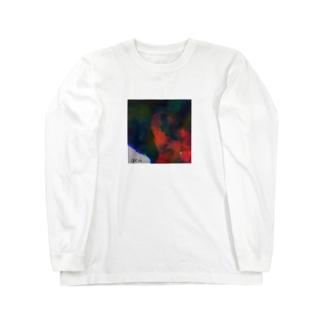 インスタにあがってた友達にパクられたピアス Long sleeve T-shirts