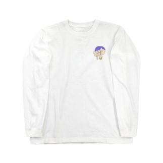 ヨダレくん Long sleeve T-shirts