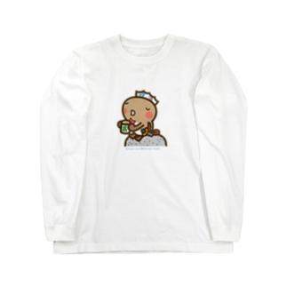 邑南町ゆるキャラ:オオナン・ショウ『ティーブレイク』 Long sleeve T-shirts