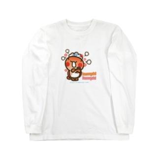 邑南町ゆるキャラ:オオナン・ショウ『humph! humph!」』 Long sleeve T-shirts