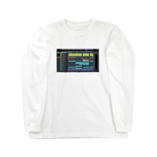 DAW トコナツサーキット Long sleeve T-shirts
