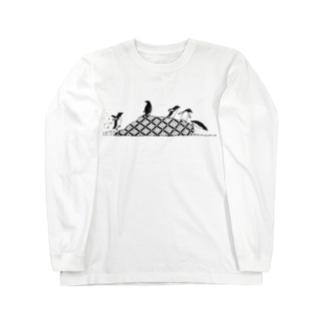 ペンギンズ Long sleeve T-shirts