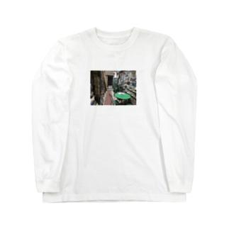 ヴェネツィアの古本屋 Long sleeve T-shirts