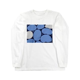 あおいもちもち Long sleeve T-shirts