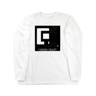 CherisCraftロゴ Long sleeve T-shirts