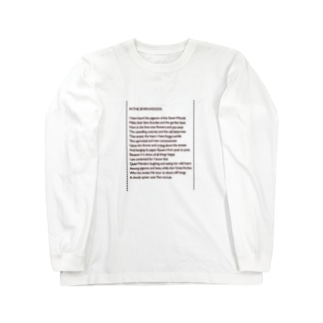 IN THE SEVEN WOODS. -191218 Long sleeve T-shirts