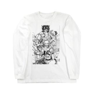Ckira (シキラの白黒No.1 Long sleeve T-shirts