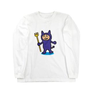 破壊王子・デビルくん Long sleeve T-shirts