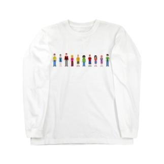 調整さんアバターズ Long sleeve T-shirts