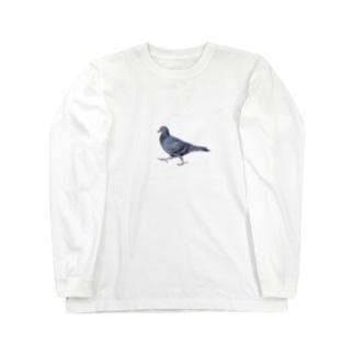 行方不明のドバト Long sleeve T-shirts