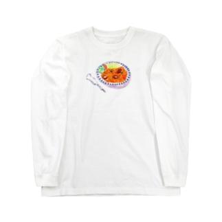 なつかしのナポリタン Long sleeve T-shirts