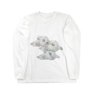 ドッグ3 Long sleeve T-shirts
