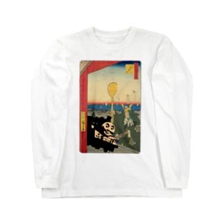 歌川Thomas Long sleeve T-shirts