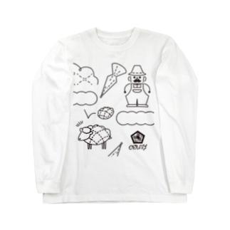 melon pan tree farm Long sleeve T-shirts