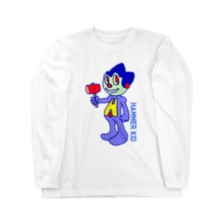 ハンマーキッド Long sleeve T-shirts