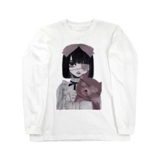 くまさん Long sleeve T-shirts