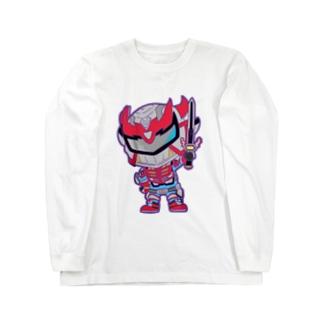超輝神シャイニンガー2 Long sleeve T-shirts