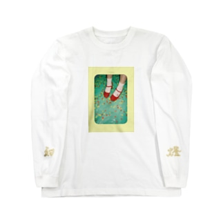 あかい靴 Long sleeve T-shirts