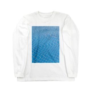 湯船ゆらゆら Long sleeve T-shirts