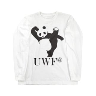 UWFパンダTシャツ Long sleeve T-shirts