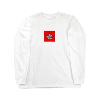 2020年の顔 Long sleeve T-shirts