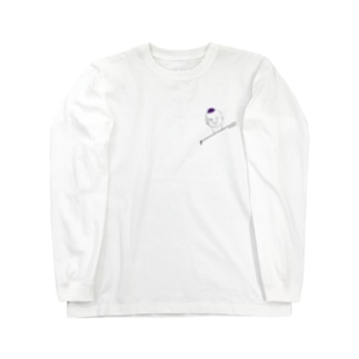 chirahon#3「哀れみ」 Long sleeve T-shirts