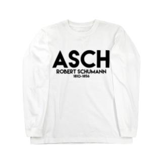 シューマン(ASCH) Long sleeve T-shirts
