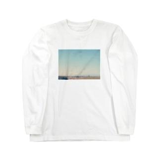ぼんやりMt.Fuji Long sleeve T-shirts