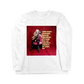ドール写真:夢吉他(ゆめギター) Doll picture: Guitar in dream Long sleeve T-shirts