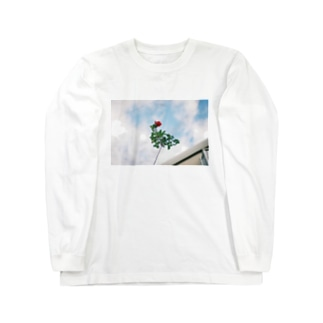 薔薇 Long sleeve T-shirts
