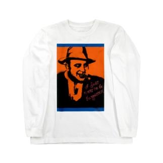 アル・カポネ Long sleeve T-shirts