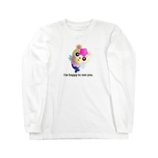 くまぎょランド公式グッズ(仮) Long sleeve T-shirts