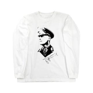 ロンメル元帥 Long Sleeve T-Shirt