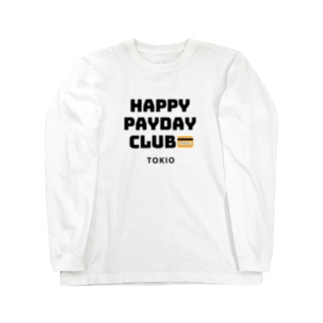 HAPPY PAYDAY CLUB Long sleeve T-shirts