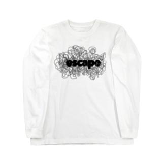 escape.  0215 Long sleeve T-shirts