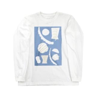iriki cutwork Long sleeve T-shirts